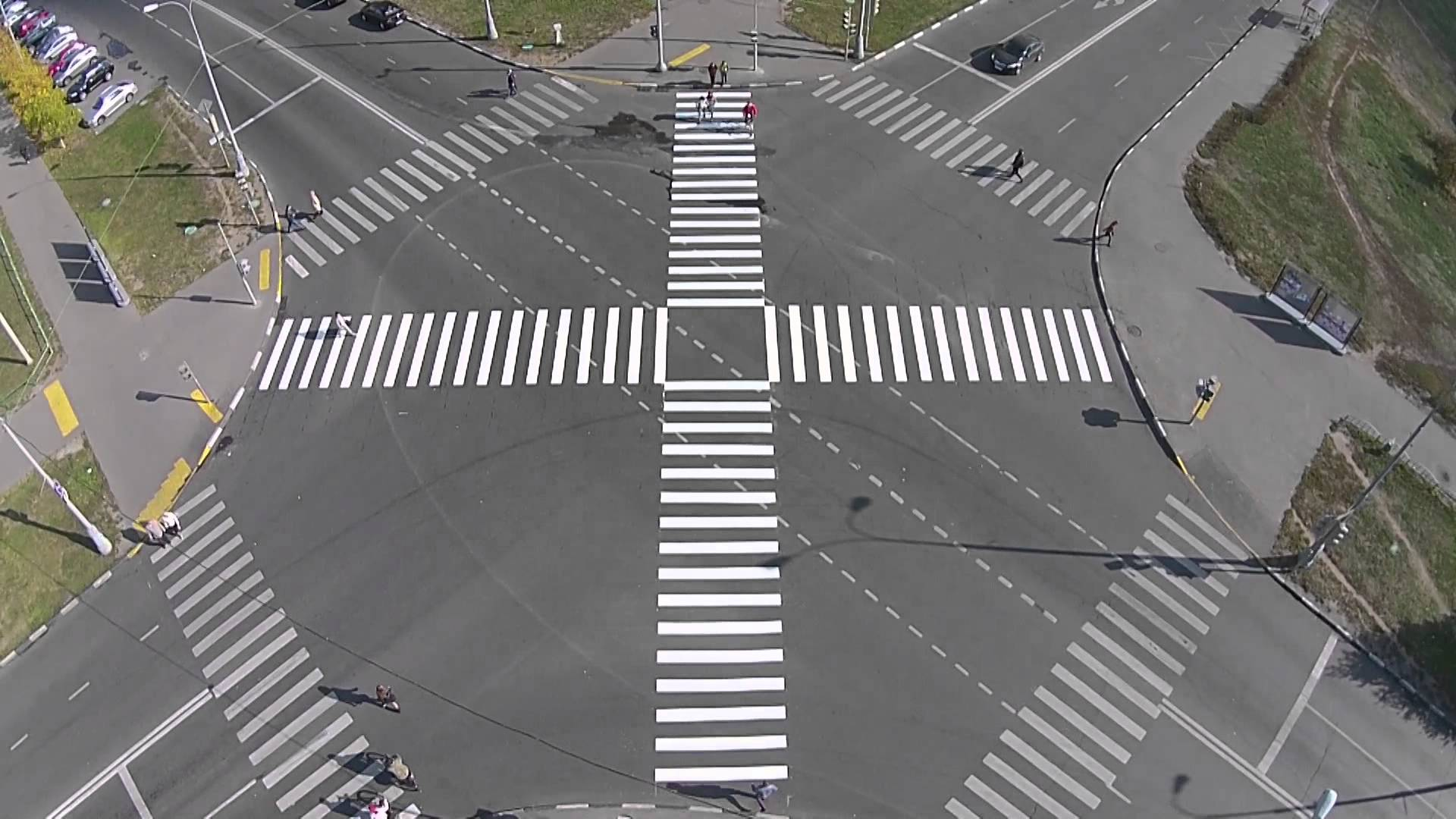 Изменение форматов  пешеходных переходов поможет снизить количество ДТП