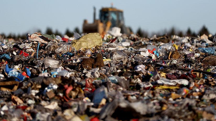 изображение полигона бытовых отходов